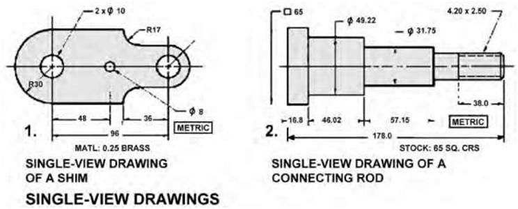 types of views in engineering drawing