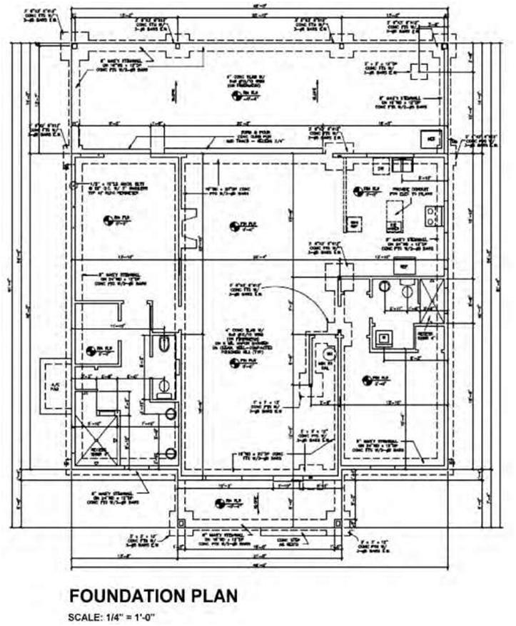 082311 2102 LayoutofCon23 Blueprint   Layout of Construction Drawings