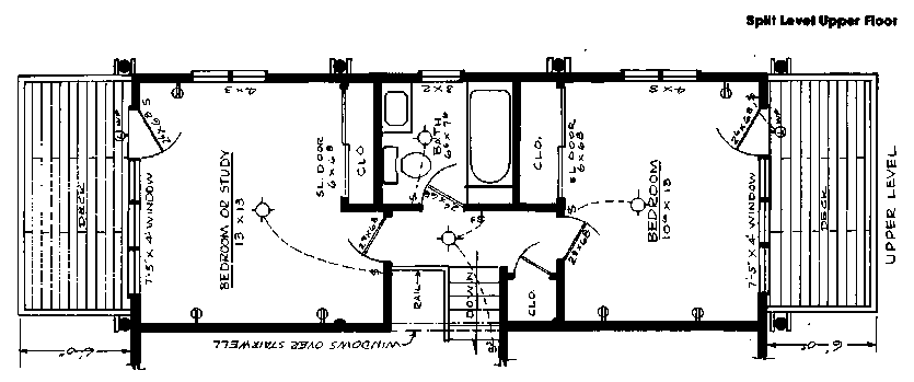 Pole Building upper floor plan